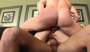 brunette anal babe hardcore dobbel penetrasjon