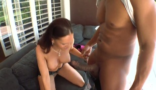 Jennifer Darksome knows no limits when it comes to blowing her fuck buddys love wand