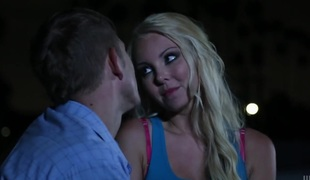 Aaliyah Love gets her mouth destroyed by dudes man meat