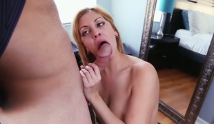 Milf chicana Jazmyn with huge jugs acquires wildy slammed