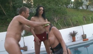 Rocco Siffredi is one hard-dicked stud who loves screwing Tiffany Tyler in her deadeye after dick engulfing