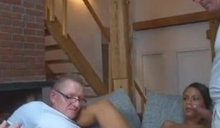 German Doctors fucking a patient at home