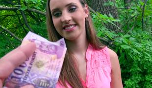 tsjekkisk penger amatør synspunkt utendørs