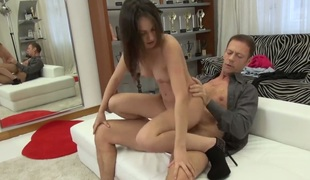 Anina and her hard dicked team fuck buddy Rocco Siffredi are in the mood for fucking