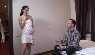 Yan & Aruna Aghora & Simon in Fun And Fuck For Money - SellYourGF