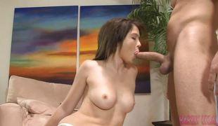 Naughty Tiffany Fox likes hard cock