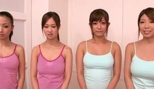Crazy Japanese cutie in Superlatively good JAV censored Massage, Group Sex episode