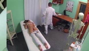 Hawt Dark brown Patient returns lust the doctors big dong