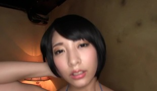 Best Japanese chick Miku Abeno in Horny swallow, cougar JAV movie