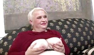 Chubby Mature Sweetheart Stripping