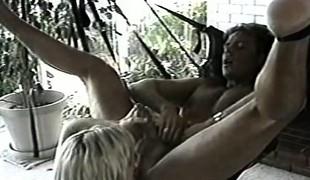 Erika Ripe displays her fellatio skills and wildly rides that large stick