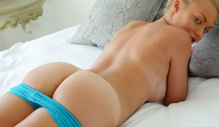 tenåring blonde truser ass