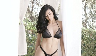 Irresistible brunette MILF Heather Vahn gives tremendous orall-service
