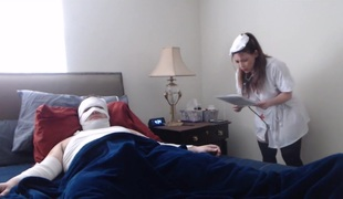 Horny Patient Gets Healed By A Nasty Dilettante Nurse