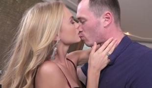 tenåring babe vakker hardcore kyssing