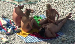 Hottest Non-professional movie with Nudism, Voyeur scenes