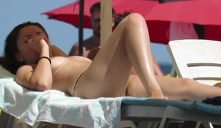 Non-professional Young Gorgeous Topless Teens Beach Voyeur Close Up