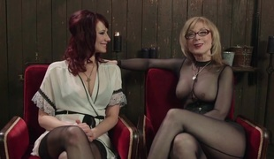 Retribution Maitresse Madeline taken down dominated and anally drilled by Nina Hartley