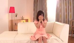 Eager Japanese chick Minami Kojima in Best JAV censored Fingering, Hairy movie