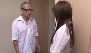 Lewd Japanese slut Rosa Kawashima in Best JAV uncensored Creampie scene