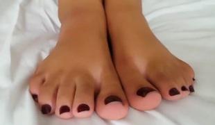 Brutal lesbian foot gagging 1