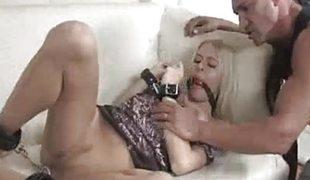 babe blonde sædsprut handjob fetish
