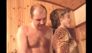Alina in sauna (witch sound)