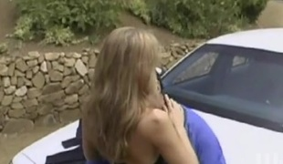 Julia Ann in a huge 10-Pounder ride and naughty blowjob action