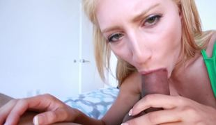 synspunkt blonde oral sucking sperm