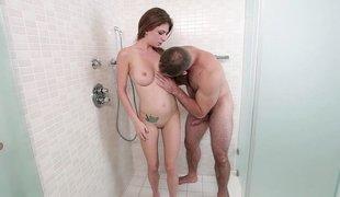 Alluring babe desires hot steamy sex