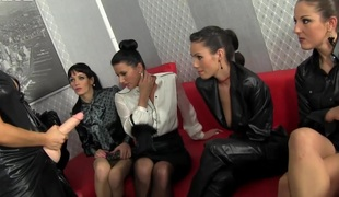 Bukkakke loving lesbian harlots cumsaturate