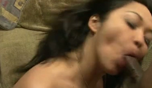 Nasty cuckold let his Indian buddy fuck his curvy bitch Mika Tan tough