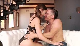 tenåring tynn vakker hardcore kyssing